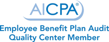 AICPA Employee Benefit Plan Audit Center Member